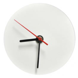 Часы круглые стеклянные