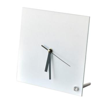 Часы квадратные стеклянные
