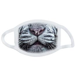 Не медицинская маска с принтом тигр