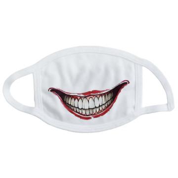 Не медицинская маска с принтом