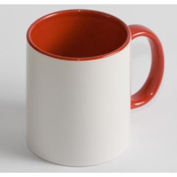 Чашка Цветная красная