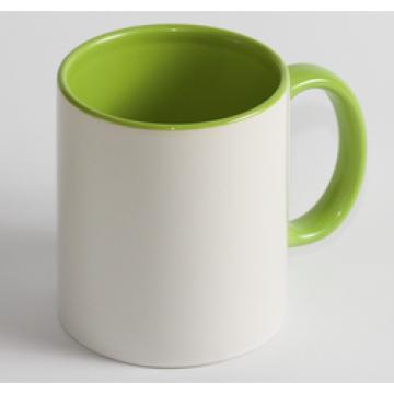 Чашка Цветная салатовая
