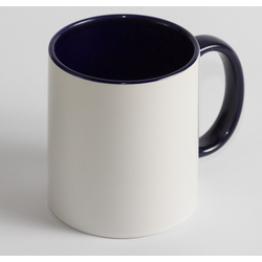 Чашка Цветная синяя