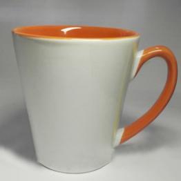 "Чашка ""латте"" оранжевая"
