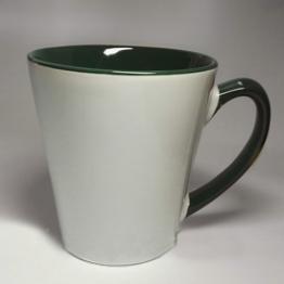 "Чашка ""латте"" зеленая"