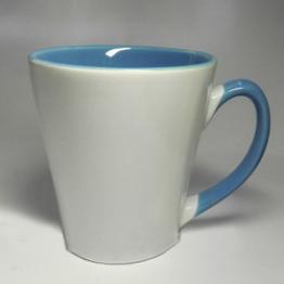 """Чашка """"латте"""" голубая"""