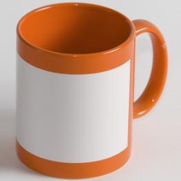 "Чашка ""Full color"" оранжевая"