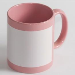 "Чашка ""Full color"" розовая"