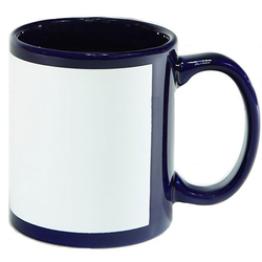 """Чашка """"Full color"""" темно-синяя"""