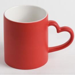 """Чашка """"Хамелеон"""" love красный"""