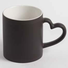 "Чашка ""Хамелеон"" love черный"