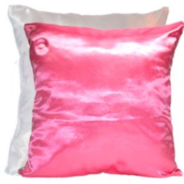 Подушка для фото бело-розовая