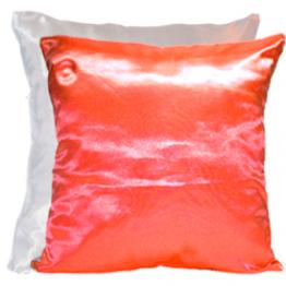 Подушка для фото бело-красная
