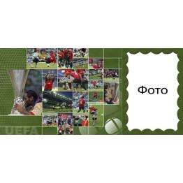 Рамка для чашки с фото спортивной тематики