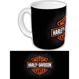 "Чашка ""Harley-Davidson"" Темный фон"