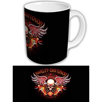 "Чашка ""Harley-Davidson"" Темный фон 2"