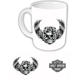 "Чашка ""Harley-Davidson"" Белый фон"