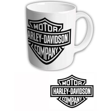 """Чашка """"Harley-Davidson"""" Логотип на белом фоне"""