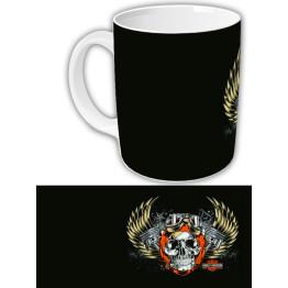 """Чашка с символикой """"Harley-Davidson"""""""