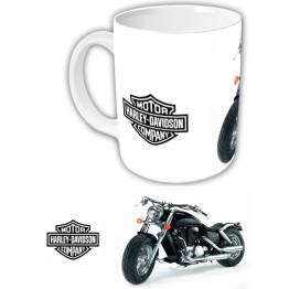 "Чашка ""Harley-Davidson"" Белый фон 2"