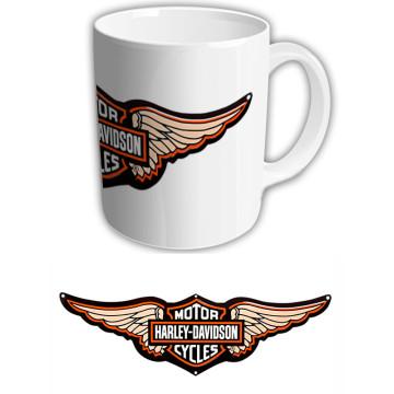 "Чашка ""Harley-Davidson"" крылья"