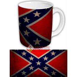 Чашка флаг конфедерации