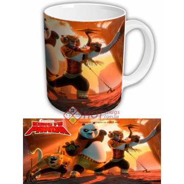 "Чашка с героями мультфильма ""Кунг фу панда"""