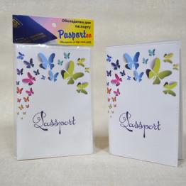 """Обложка на паспорт """"Бабочки"""""""